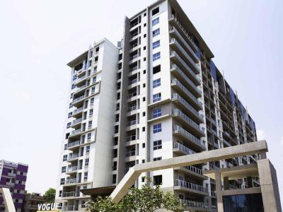 Gallery Cover Image of 1730 Sq.ft 3 BHK Apartment for rent in SJR Vogue Residences, Whitefield for 35000