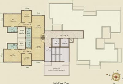 Project Image of 393 - 670 Sq.ft 1 BHK Apartment for buy in Haware Engineers And Builders Grand Edifice