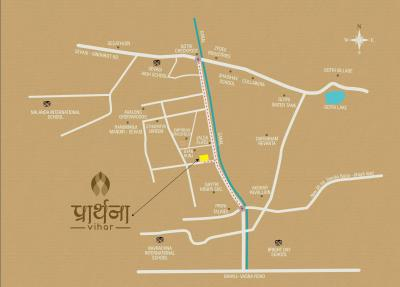 Project Image of 0 - 709 Sq.ft 2 BHK Apartment for buy in Prarthana Vihar