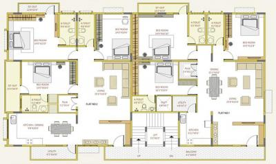 Project Image of 0 - 4000.0 Sq.ft 3 BHK Apartment for buy in Sumo Properties Saga Elite