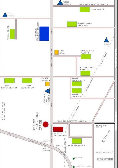 Project Image of 507.0 - 702.0 Sq.ft 1 BHK Apartment for buy in Satyam Residency