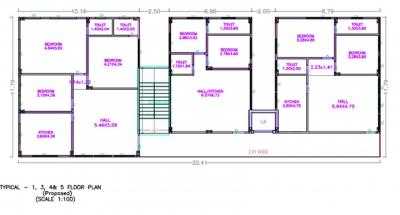 Project Image of 732.7 - 1289.41 Sq.ft 2 BHK Apartment for buy in Dhathri Golden Tulip
