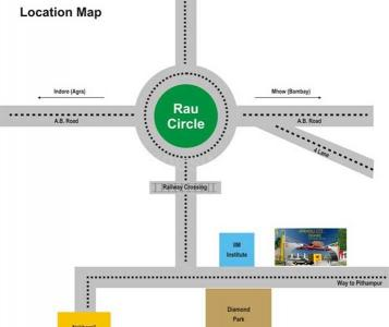 Project Image of 800 - 2700 Sq.ft Residential Plot Plot for buy in Amrapali Group Modern City Plots