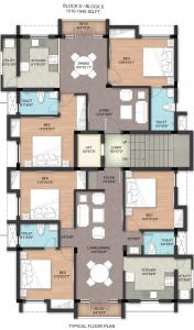 Project Image of 900.0 - 1720.0 Sq.ft 2 BHK Apartment for buy in BBCL Evita