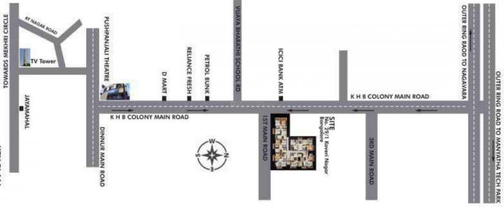 Project Image of 1030 - 1650 Sq.ft 2 BHK Apartment for buy in Comfort Meadows