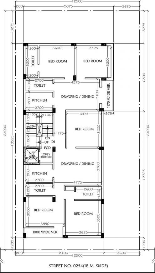 Project Image of 972.0 - 1245.0 Sq.ft 2 BHK Apartment for buy in Sun CD 76