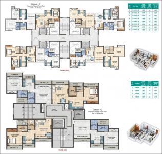 रामेश्वर पार्क डैफोडिल बी में खरीदने के लिए 565 - 915 Sq.ft 1 BHK अपार्टमेंट प्रोजेक्ट  की तस्वीर