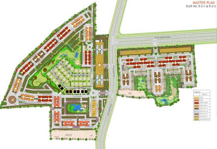Project Image of 332.39 - 660.15 Sq.ft 1 BHK Apartment for buy in TCG The Cliff Garden Apartments