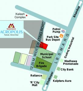Project Image of 412 - 722 Sq.ft 1 BHK Apartment for buy in Manthan Acropolis