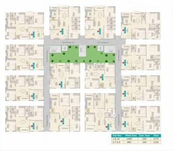 Project Image of 1175 - 1760 Sq.ft 2 BHK Apartment for buy in Sark Heights Two
