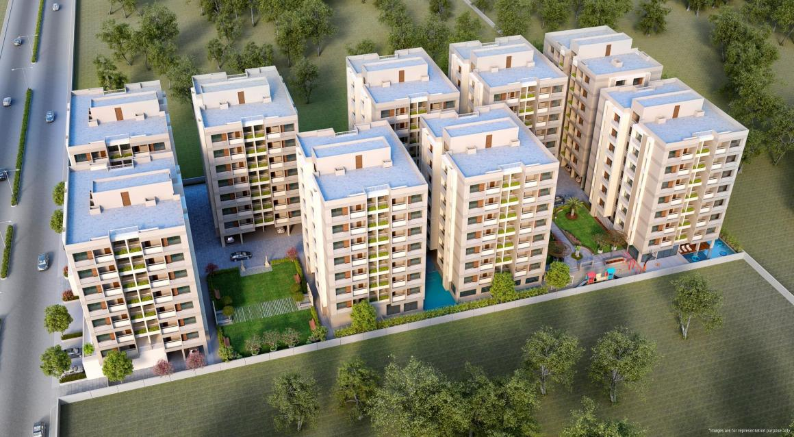 Project Image of 1170.0 - 1278.0 Sq.ft 2 BHK Apartment for buy in Sahajanand Helenium
