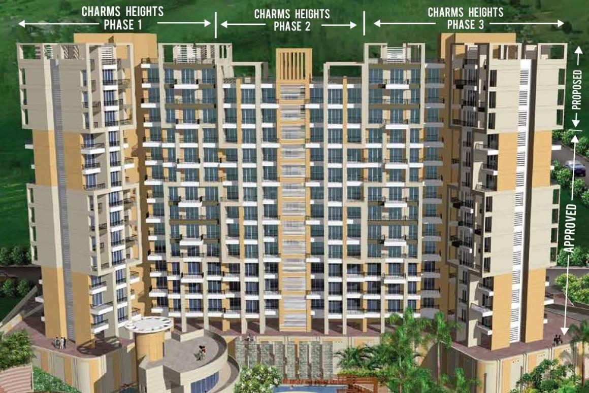 Project Image of 470.0 - 693.0 Sq.ft 1 BHK Apartment for buy in Charms Heights