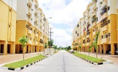 Gallery Cover Image of 700 Sq.ft 2 BHK Apartment for rent in  Aarambh Township, Serilingampally for 10000