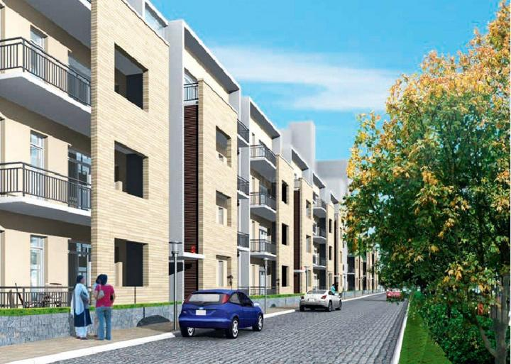 Project Image of 636 - 4095 Sq.ft 1 BHK Studio Apartment for buy in Vatika Park Apartments