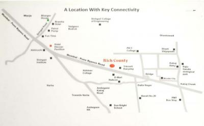 Project Image of 635 - 891 Sq.ft 2 BHK Apartment for buy in RM Rich County Phase II