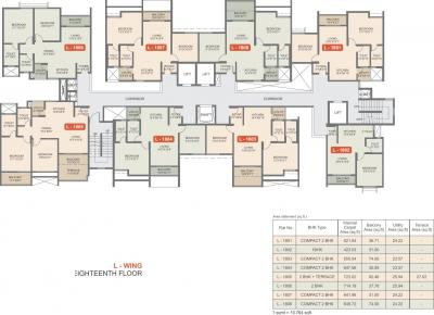 Gallery Cover Image of 610 Sq.ft 1 BHK Apartment for buy in Rohan Upavan Phase 1, Byrathi for 3400000