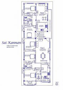 पैलेस साई कन्नन में खरीदने के लिए 974 - 1323 Sq.ft 2 BHK अपार्टमेंट प्रोजेक्ट  की तस्वीर