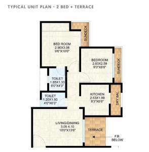 रौनक सिटी सेक्टर IV डी1 में खरीदने के लिए 1 - 520 Sq.ft 1 BHK अपार्टमेंट प्रोजेक्ट  की तस्वीर