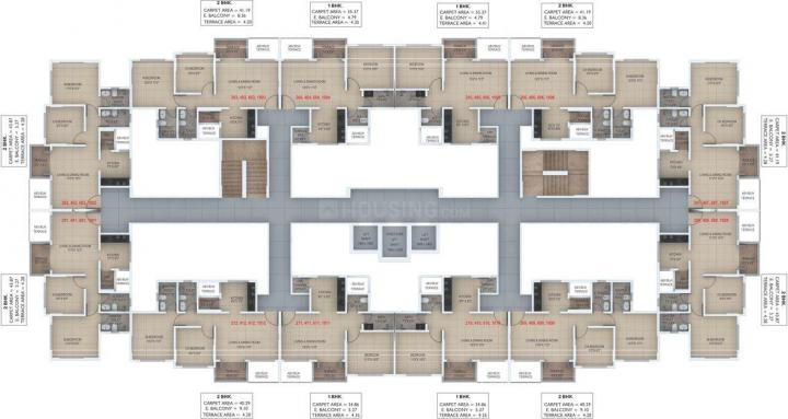 Project Image of 316.67 - 581.0 Sq.ft 1 BHK Apartment for buy in Legacy Urbania