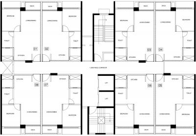 Project Image of 0 - 395.0 Sq.ft 1 BHK Apartment for buy in Suadela Torino