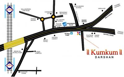 Project Image of 340.0 - 555.0 Sq.ft 1 BHK Apartment for buy in Kalash Kumkum Darshan