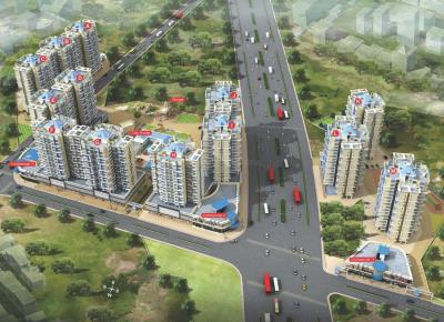 Project Image of 667.79 - 690.83 Sq.ft 2 BHK Apartment for buy in Arihant City Phase II E Building