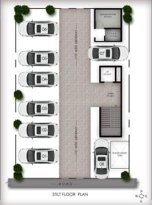 अरन्या 87 में खरीदने के लिए 1020 - 1075 Sq.ft 2 BHK अपार्टमेंट प्रोजेक्ट  की तस्वीर