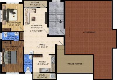 वसीयम सिज़न में खरीदने के लिए 1056 - 1115 Sq.ft 2 BHK अपार्टमेंट प्रोजेक्ट  की तस्वीर