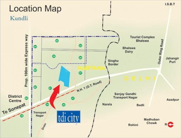 Gallery Cover Pic of TDI TDI City Plot