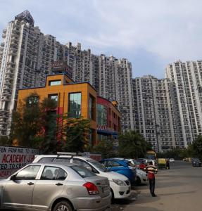 Gallery Cover Image of 1000 Sq.ft 2 BHK Apartment for rent in Amrapali Platinum, Sector 119 for 12500