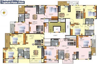 चैटल्स गजमुखा रेसिडेंसी में खरीदने के लिए 971 - 1236 Sq.ft 2 BHK अपार्टमेंट प्रोजेक्ट  की तस्वीर