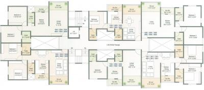Project Image of 437.0 - 653.0 Sq.ft 1 BHK Apartment for buy in Trinity Green Hive 65