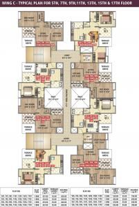 Project Image of 377 - 500 Sq.ft 1 BHK Apartment for buy in Ravinanda Towers