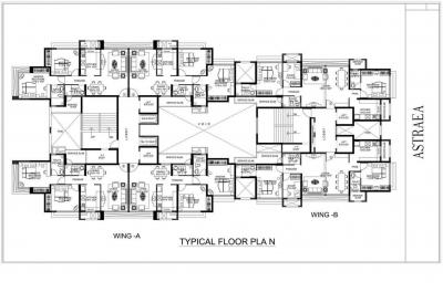 Project Image of 1040 - 1265 Sq.ft 2 BHK Apartment for buy in Rustomjee Urbania Astraea