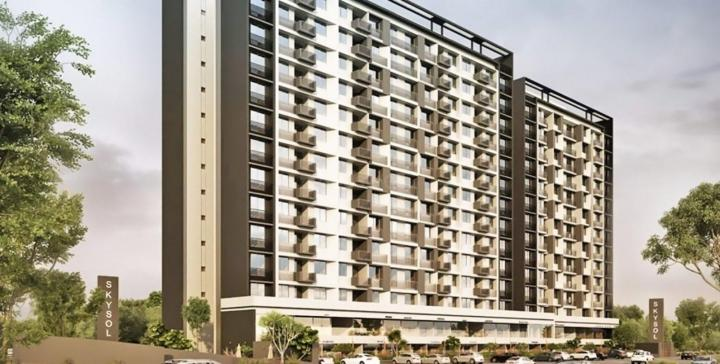 Project Image of 1105.0 - 1440.0 Sq.ft 2 BHK Apartment for buy in Saanvi Sky Sol