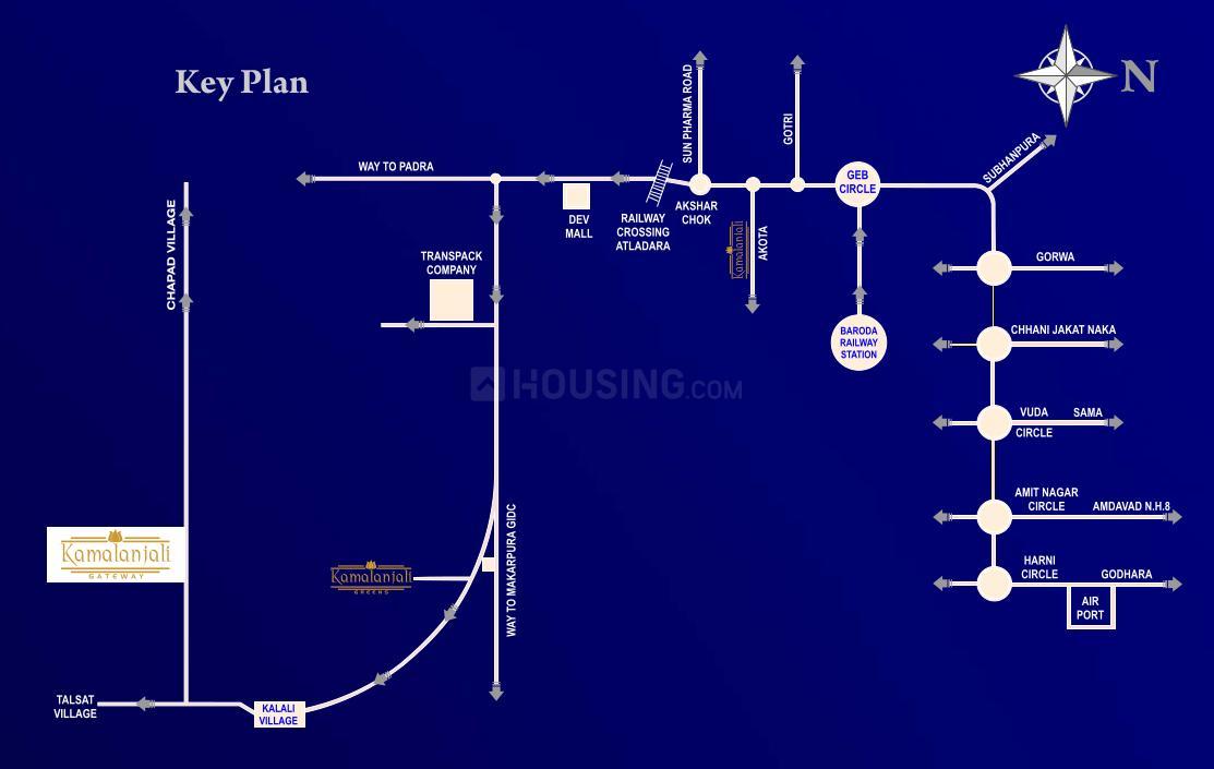 Project Image of 2005.0 - 4566.0 Sq.ft Residential Plot Plot for buy in Prasanna Kamlanjali Gateway