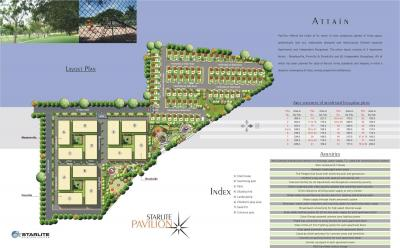 Project Image of 1076 - 1688 Sq.ft 2 BHK Apartment for buy in Star Homes Starlite Pavilion