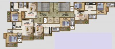 Project Image of 278.0 - 510.0 Sq.ft 1 RK Apartment for buy in Sudam Residency
