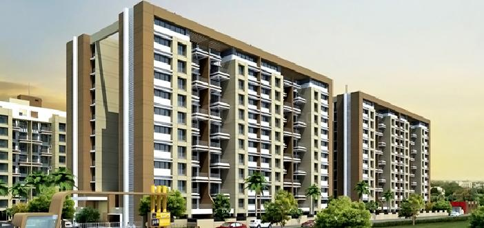Project Image of 722.15 - 1108.68 Sq.ft 2 BHK Apartment for buy in Pride Purple Park Express Phase II