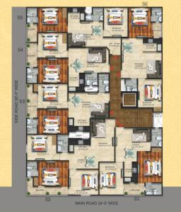 Project Image of 910.0 - 1350.0 Sq.ft 2 BHK Apartment for buy in Onyx County