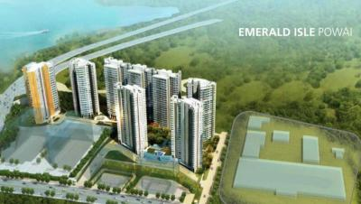 Project Image of 382.0 - 624.0 Sq.ft 1 BHK Apartment for buy in L And T Veridian at Emerald Isle 14A and 14B