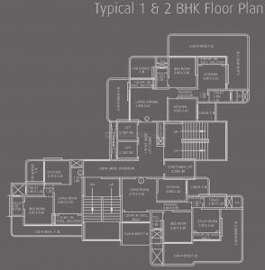 नेऊमेक सृजी टावर्स में खरीदने के लिए 400.0 - 790.0 Sq.ft 1 BHK अपार्टमेंट प्रोजेक्ट  की तस्वीर