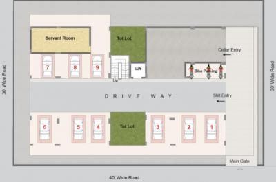 Project Image of 0 - 1186 Sq.ft 2 BHK Apartment for buy in Rami Radha Krishna Towers
