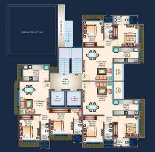 Project Image of 434 - 682.97 Sq.ft 1 BHK Apartment for buy in Sosar Solitaire