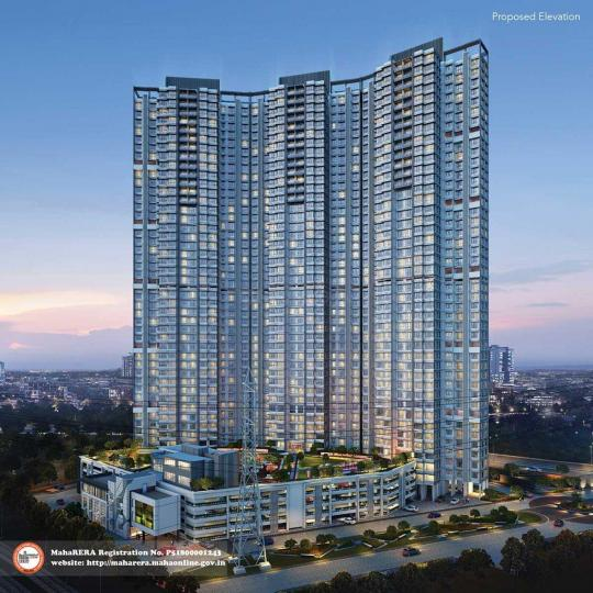 Project Image of 661.0 - 1017.0 Sq.ft 2 BHK Apartment for buy in Wadhwa Atmosphere Phase 1