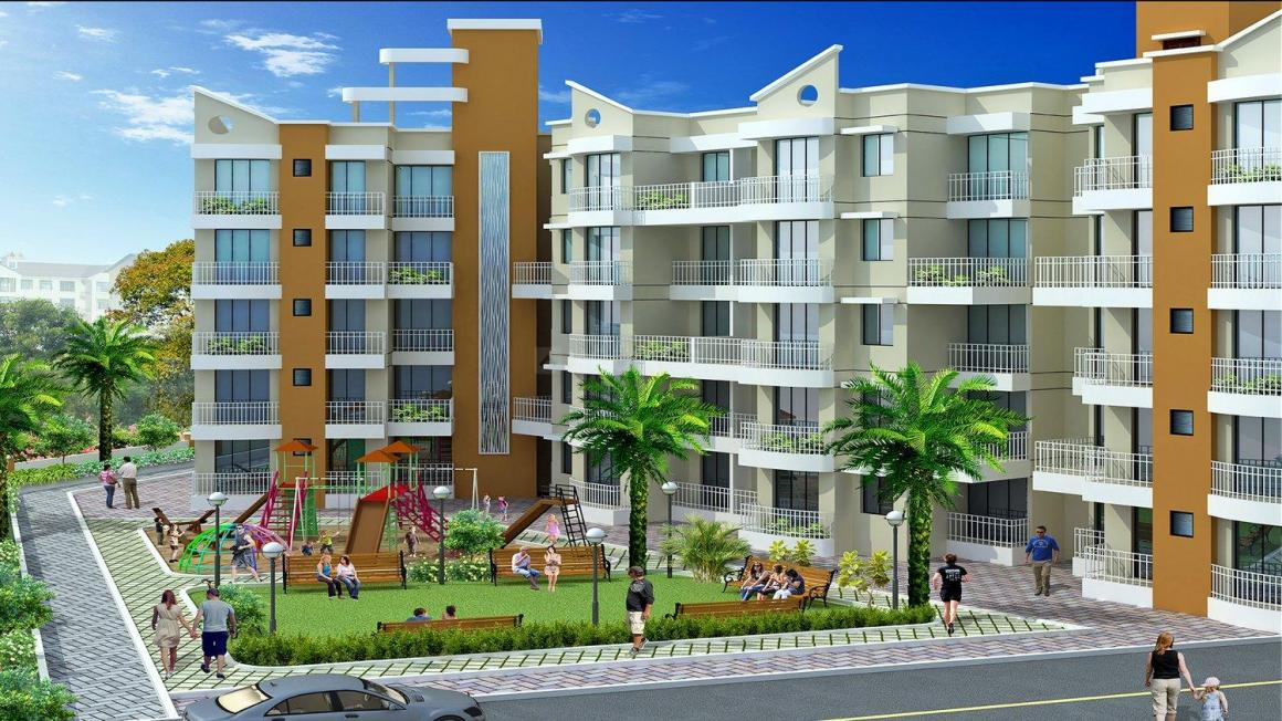 Project Image of 263.0 - 400.0 Sq.ft 1 RK Apartment for buy in Udaan Avenue