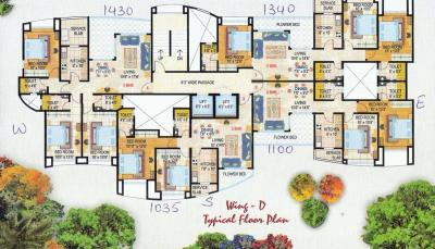 Gallery Cover Image of 1430 Sq.ft 3 BHK Apartment for rent in Powai for 64000