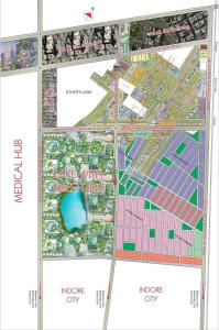 Gallery Cover Image of 1000 Sq.ft Residential Plot for buy in Sarthak Singapore Life Style Block A, Mari Mata Square for 2175000
