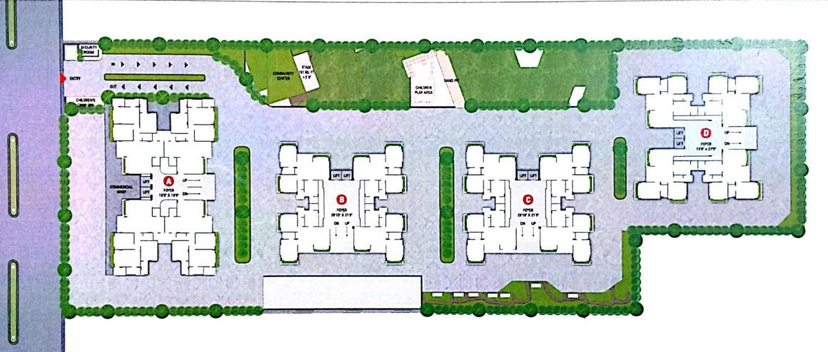 Project Image of 688.03 - 1102.44 Sq.ft 2 BHK Apartment for buy in Seventh Seventh Paradise