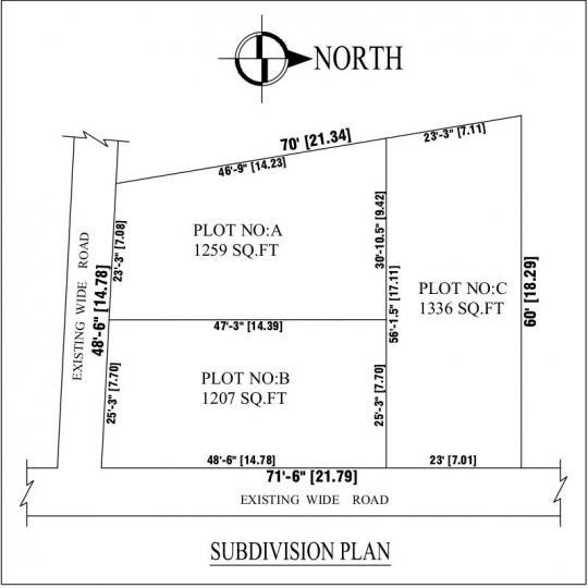 Project Image of 1207.0 - 1336.0 Sq.ft Residential Plot Plot for buy in Jayaguru Saravana Nagar
